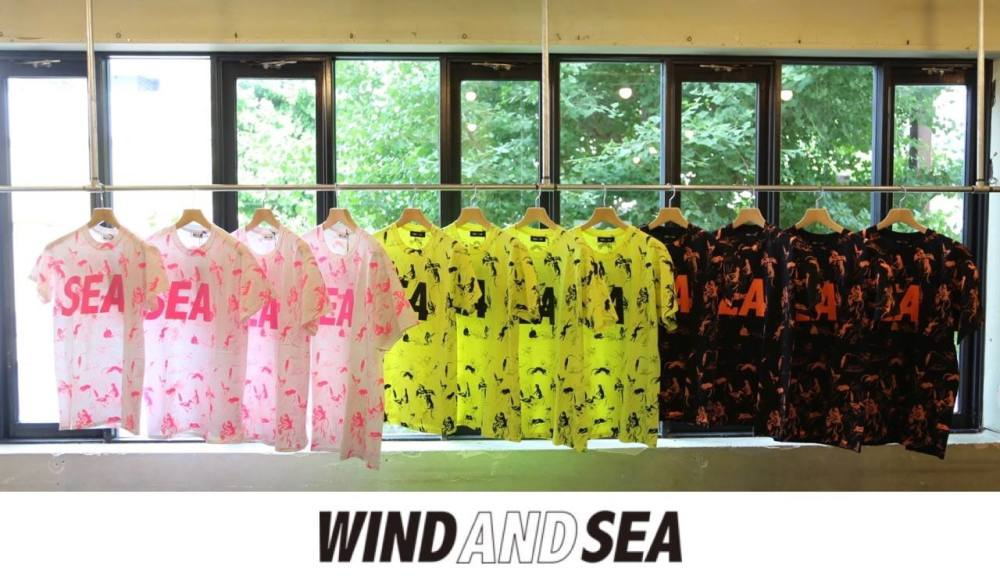 WIND AND SEA 「T-SHIRT PATTERN」  7月13日(土)発売!