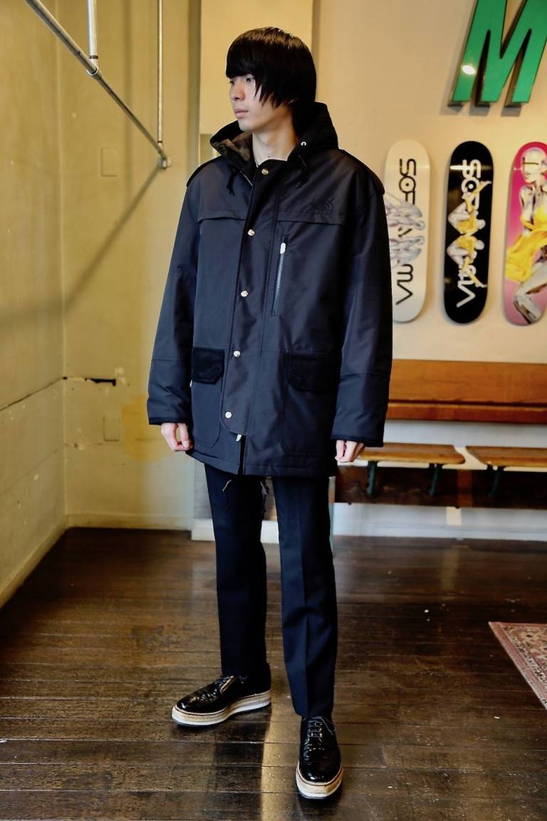 "eYe JUNYA WATANABE MAN ""ナイロンタフタGORE-TEX INFINIUM THE NORTH FACE"""