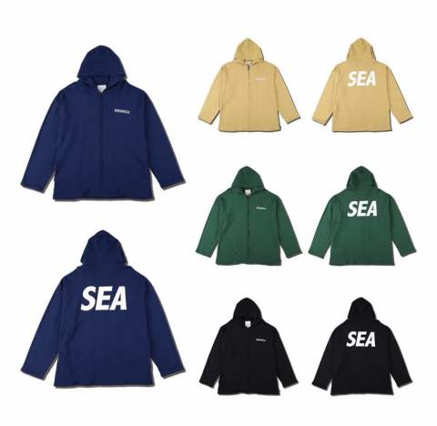 "WIND AND SEA 5TH COLLECTION 11月9日土曜日発売 markリリースアイテム""SEA BIG ZIP HOODIE"""