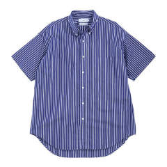 "THOMAS MASON S/S B.D Box Shirt""NAVY ST"""