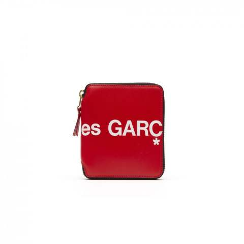 Wallet COMME des GARCONS「ロゴウォレット(二つ折り) RED 6月入荷予定」