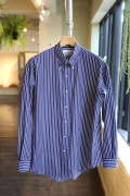 "THOMAS MASON L/S B.D Box Shirt""NAVY ST"""