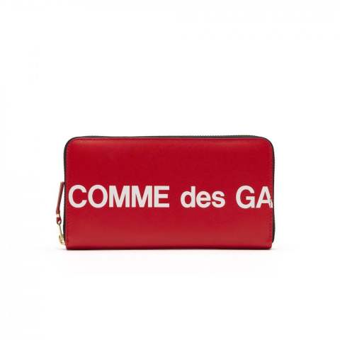 "CDG Wallet Huge Logo SA0111HL (8Z-T101-051-2-1)""RED"""
