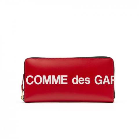 "CDG Wallet Huge Logo SA0110HL (8Z-T011-051-2-1)""RED"""