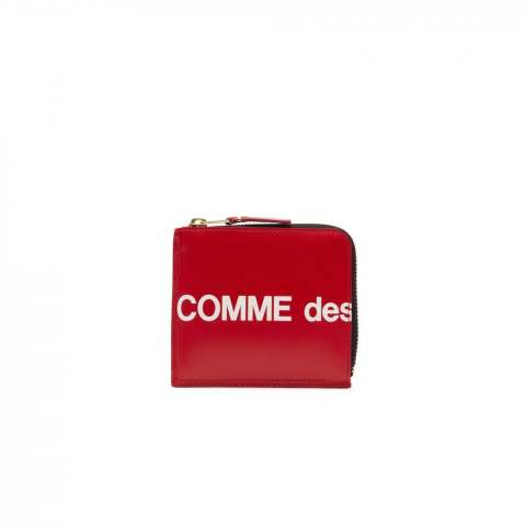 "CDG Wallet Huge Logo SA3100HL (8Z-T031-051-2-1)""RED"""