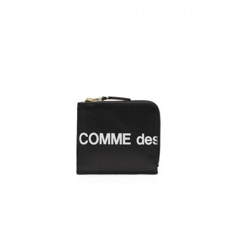 "CDG Wallet Huge Logo SA3100HL (8Z-T031-051-1-1)""BLACK"""