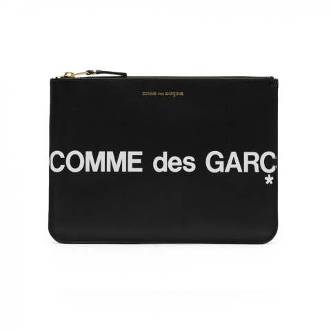 "CDG Wallet Huge Logo SA5100HL (8Z-T051-051-1-1)""BLACK"""