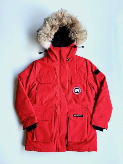 "EXPEDITION PARKA-FUSION FIT-""RED""(WOMEN'S STYLE 4660LA)"