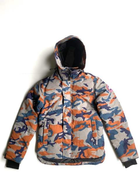 "MACMILLAN PARKA FUSION FIT PRINT""CLASSIC COMO ORANGE""3804MAP"
