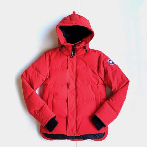"MACMILLAN PARKA FUSION FIT""RED"""