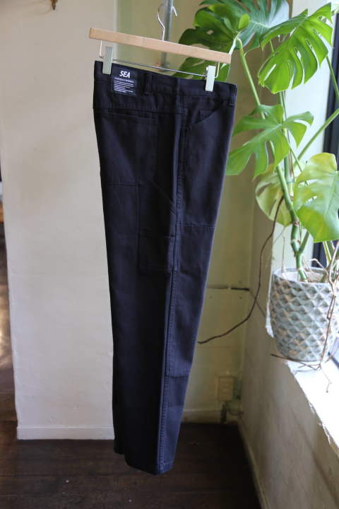 "WDS PAINTER PANTS""BLACK""(WDS-19A-PT-04)"