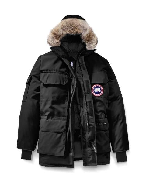 "EXPEDITION PARKA FUSION FIT""BLACK"" MEN'S STYLE#4660MA"