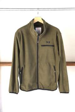 "WDS SWITCH FLEECE BLOUSON""OLIVE""(WDS-19A-JK-06)"