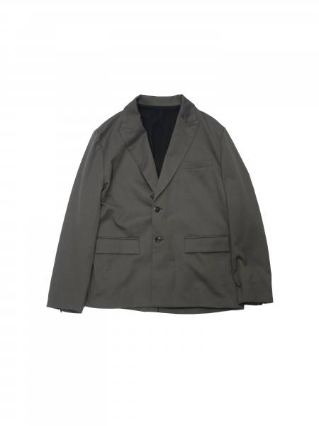 "TAILORED JACKET""CHORCOL GRAY""(Jie-20S-JK04)"