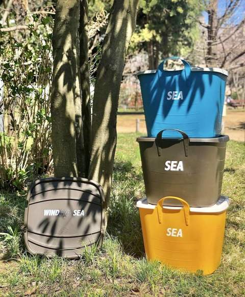 WIND AND SEA 「WDS × Stacksto Bucket」 3月28日土曜日発売