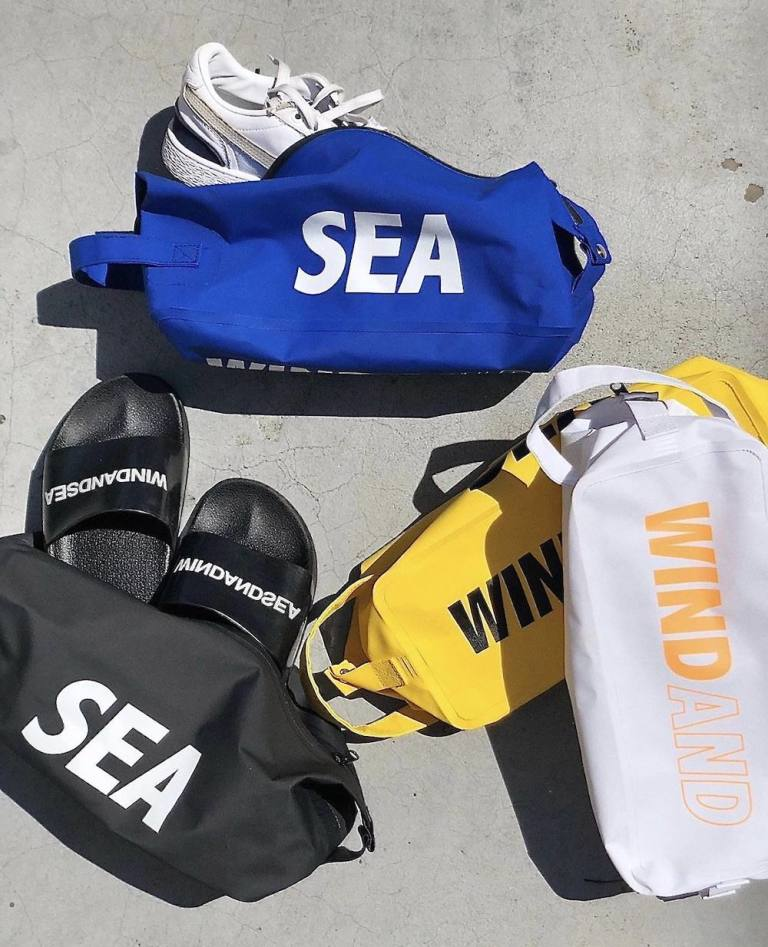 WIND AND SEA 「WDS DOPP KIT BAG(LARGE) 」4月18日発売