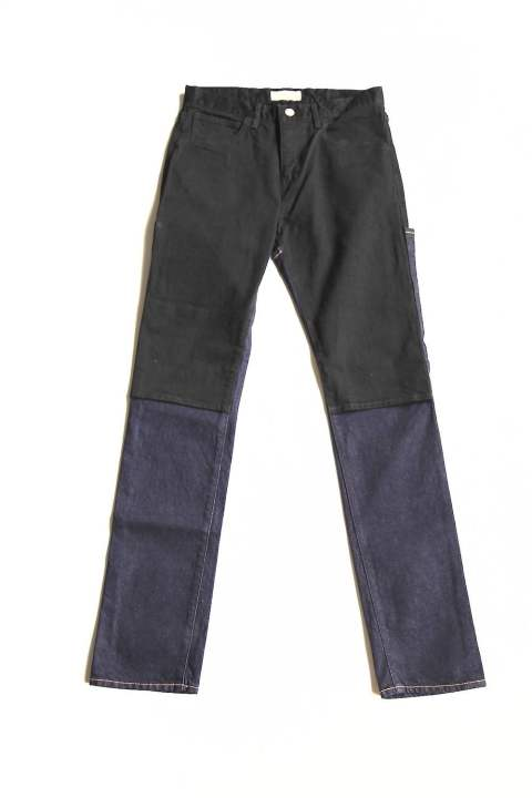 "OW 2WAY SLIM DENIM PANTS ""BLK×INDIGO OW""(Jie-STD-PT04)"