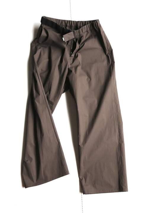 "Stretch Typewriter Wide Cook Pants""GRAY"" (GM201-40082B)"