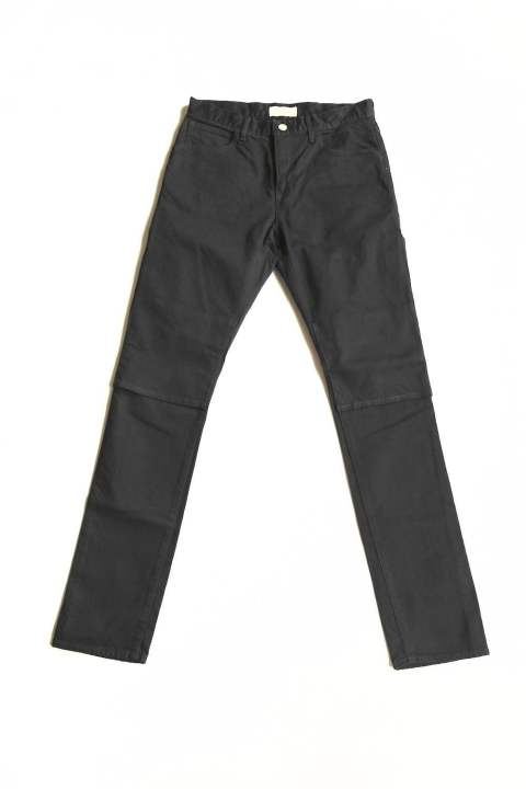 "OW 2WAY SLIM DENIM PANTS ""BLACK OW""(Jie-STD-PT04)"