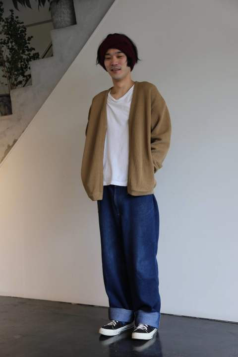 crepuscule(クレプスキュール)moss stich cardigan.Style.2019.4.11.