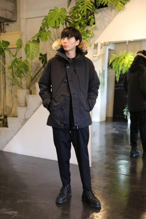 "CANADA GOOSE ""CHATEAU PARKA""スタイル.2019.8.15."