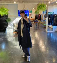 DIGAWEL(ディガウェル)RAGLAN SLEEVES COAT.MIX.Style.2019.10.7.