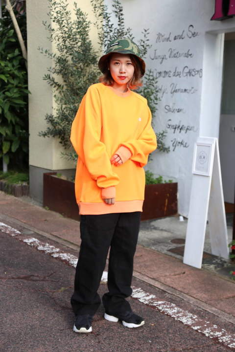 "WIND AND SEA   SEA SWEAT SHIRT""FS ORANGE""style.2019.11.12"