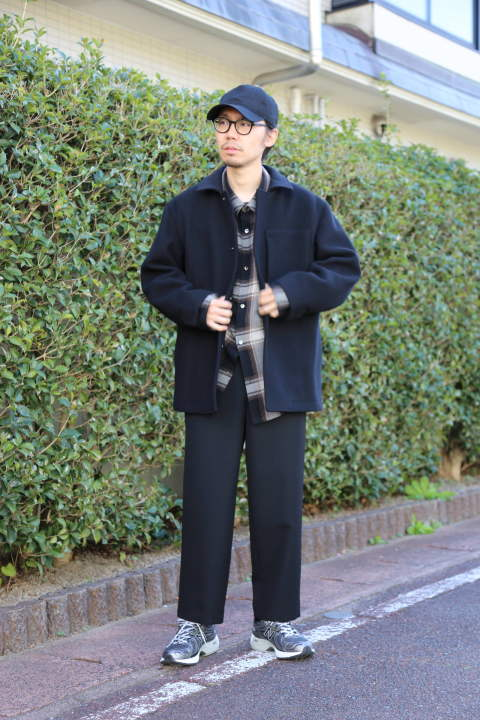 "WELLDER (ウェルダー)Boxy Car Coat""BLACK""Style.2019.11.4."