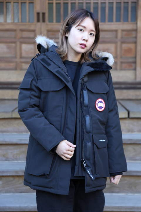 "CANADA GOOSE  EXPEDITION PARKA FUSION FIT""BLACK""style.2019.11.12"
