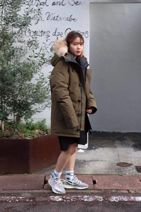 "CANADA GOOSE  CHATEAU PARKA FUSION FIT""MILITARY GREEN""style.2019.11.20"