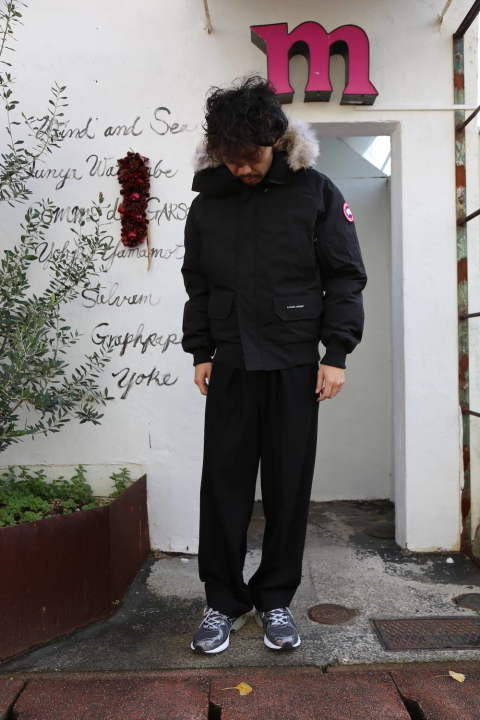 "CANADA GOOSE  CHILLIWACK BOMBER FUSION FIT""BLACK""Style.2019.12.10."