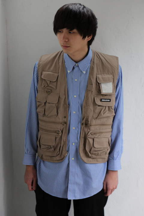 WIND AND SEA 「UTILITY VEST」style.2020.2.29.