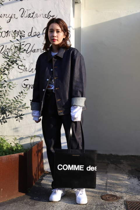 DIGAWEL  DENIM JACKET set up style.2020.2.21